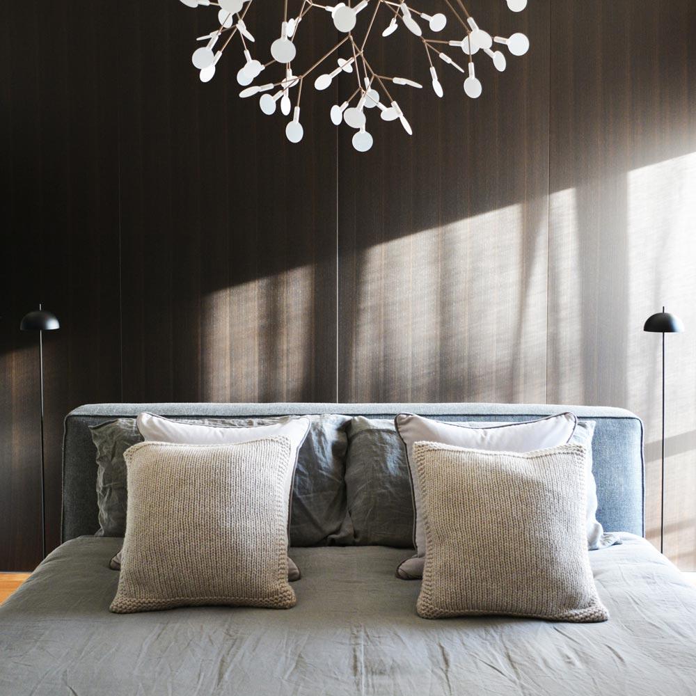 camera non convenzionale, elegante e d'impatto
